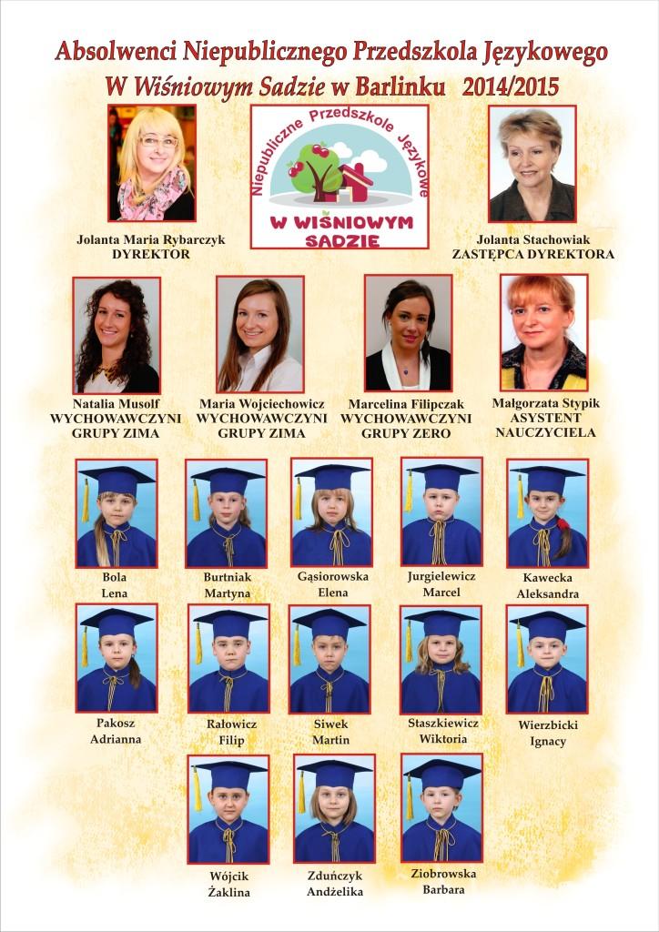 TABLO 2014-2015-grupa ZERO