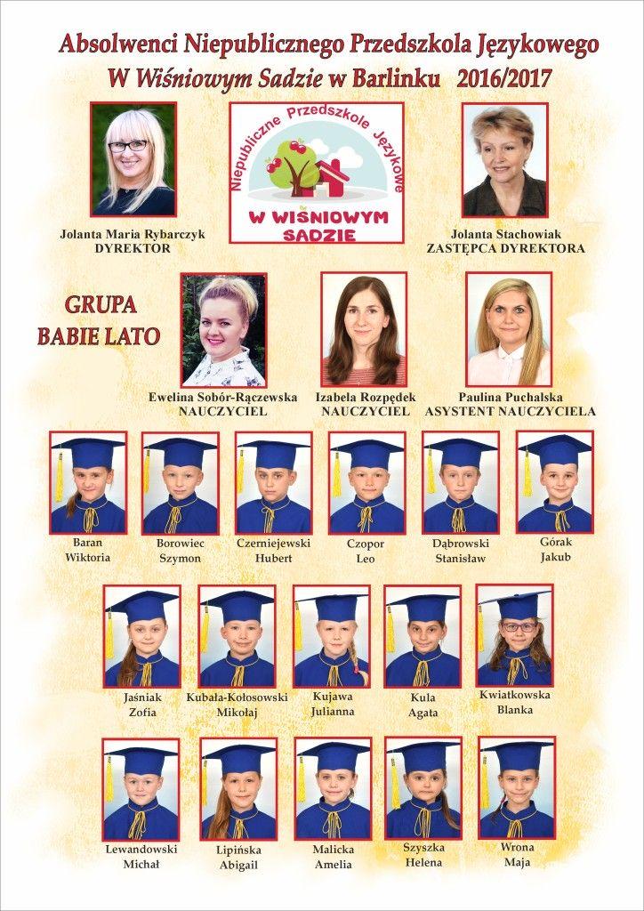 2016-2017 GRUPA BABIE LATO