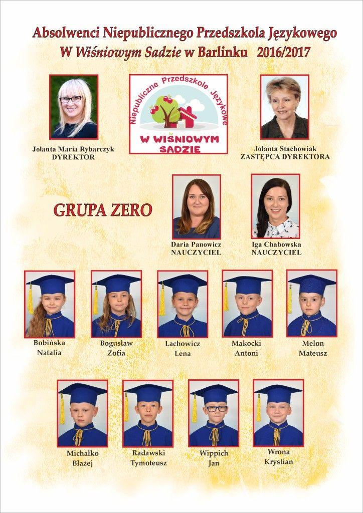 2016-2017 GRUPA ZERO